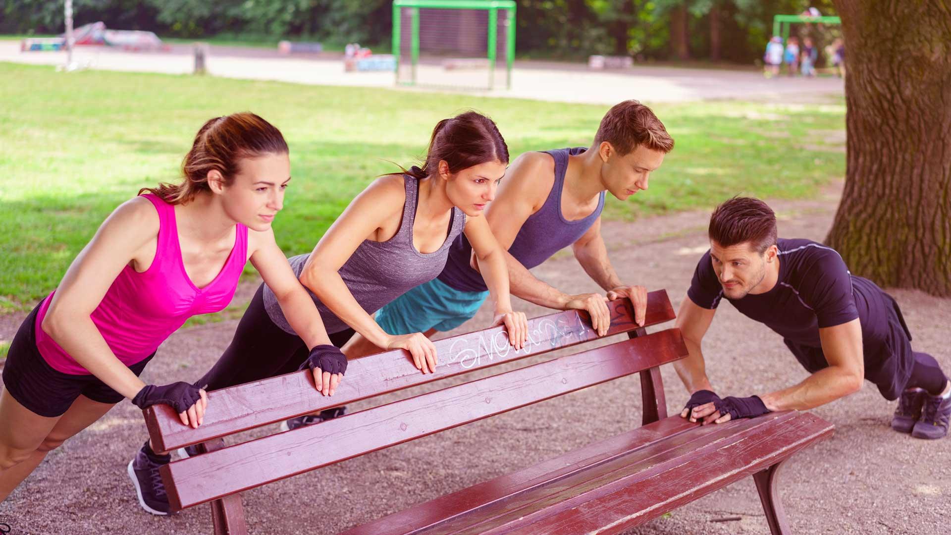 Parcours Cardio/Jeux collectifs